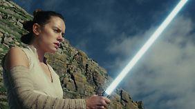 """Rey ist die Hoffnungsträgerin in """"Die letzten Jedi"""""""