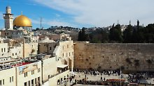 Reaktionen auf Jerusalem-Streit: Palästinenser brechen Gespräche mit USA ab