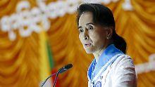 Suu Kyi ist in Verruf geraten: Amnesty entzieht Regierungschefin Ehrentitel
