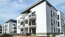 Neue Mehrfamilienhäuser in Rostock-Warnemünde.