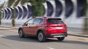 Hinter der Heckklappe des Peugeot 2008 verbergen sich lediglich 290 Liter Stauraum.