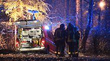 Unglück bei Ravensburg: Privatjet stürzt im Schneetreiben ab