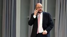 Nach Empfehlung von Schulz: SPD-Vorstand beschließt Sondierungsgespräche