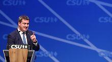 Für Landtagswahl: Söder zum CSU-Spitzenkandidaten gekürt
