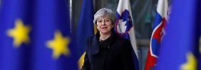 Kompromiss statt Brexit-Schlappe: May will Rebellen im Parlament besänftigen