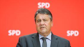 """""""Zu viel Grünes und Liberales"""": Gabriel fordert SPD zur Kurskorrektur auf"""