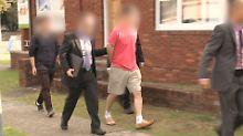 """Die australische Polizei hatte von einer ausländischen Behörde einen """"Tipp"""" bekommen."""