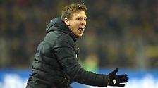 """""""Ich könnte auf diese Frage auch einfach ins Mikrofon jodeln."""" Hoffenheims Sportdirektor Alexander Rosen zu den nervigen Fragen nach der Personalie Julian Nagelsmann."""