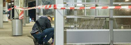 Schreckminuten am dritten Advent: Detonation auf S-Bahnhof in Hamburg