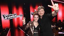 """The Voice of Germany"": Finale: Natia hat den längsten Atem"