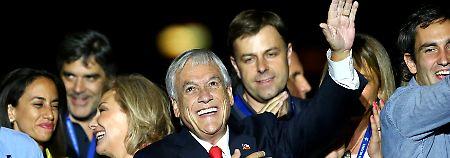 Unternehmerfreundlicher Pinera: Milliardär gewinnt Präsidentenwahl in Chile