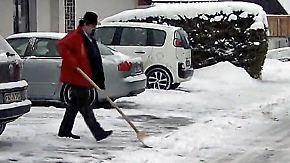 Räum- und Streupflichten: Wer muss im Winter eigentlich was machen?