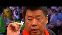 63-jähriger Lim wird Fanliebling: Darts-Oldie stiehlt Favoriten die WM-Show