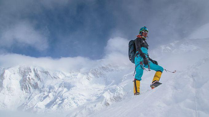 Tamara Lunger fühlt sich erst auf einem Berg richtig zu Hause.