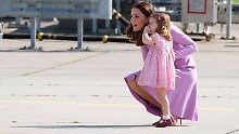 Manieren, Noten und die Queen: Das erwartet Charlotte im Kindergarten