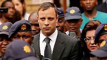 Berufungsantrag zurückgewiesen: Oscar Pistorius muss in Haft bleiben
