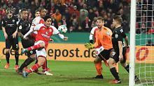 Paderborn im Pokal-Viertelfinale: Mainz dreht Spiel gegen Stuttgart