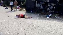 Fahrer flieht anstatt zu helfen: Zwölf Touristen sterben bei Unfall in Mexiko