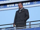 Der Sport-Tag: Bruchhagen bleibt bis 2019 beim Hamburger SV