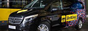 Flexibel zu- und aussteigen: Daimler und BVG testen neuen Mitfahrdienst