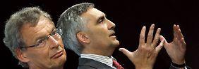 Cromme springt Kaeser bei: Siemens-Aufsichtsratschef stützt Sparpläne