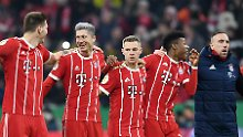 Erst Pokal-Gala, dann Grütze: FC Bayern zittert sich zur Großmacht