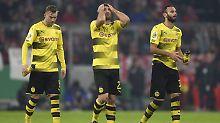 Raus ohne Applaus: Der BVB muss im Pokal nun zuschauen.