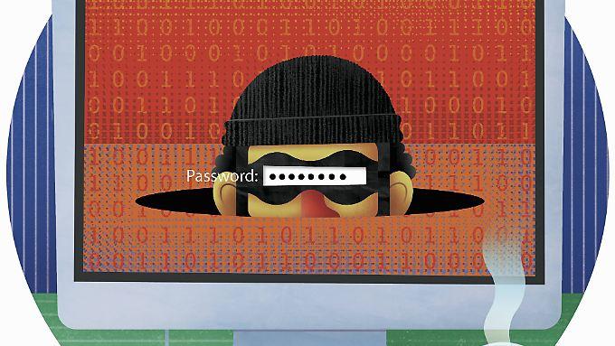 Einfache Passwörter machen Hackern die Arbeit leicht.