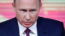 """Kontra für Donald Trump: Putin: US-Sicherheitsstrategie ist """"aggressiv"""""""