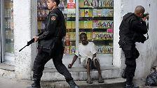 """Offensive gegen Drogenbanden: """"Krieg"""" in Rio"""