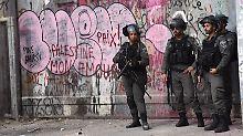 Der Tag: Israelische Beamte erschießen Verdächtigen