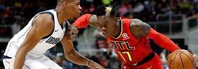 """""""Er war unglaublich"""": Schröder führt zu NBA-Sieg gegen Nowitzki"""