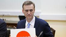 Putin-Gegner machen mobil: Nawalny will Wahlen boykottieren