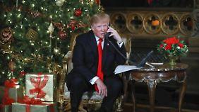 Bleibt ein irrlichternder Kommunikator und unsympathischer Schaumschläger: Donald Trump.