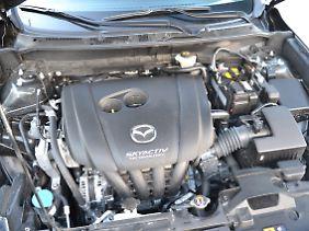 Ohne Turboaufladung sparsam: der Skyactive-Motor von Mazda.