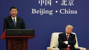 Keine stichhaltigen Beweise: Trump wirft China Sanktionsbruch vor