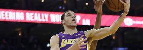 Lonzo, der älteste der drei Ball-Brüder, spielt seit dieser Saison für die Los Angeles Lakers.