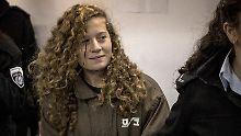 Provokateurin oder Symbolfigur?: Israel stellt Jugendliche vor Militärgericht