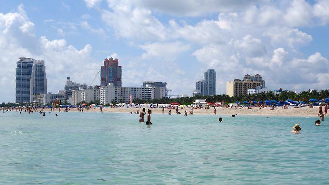 An den Stränden von Miami müssen sich die Besucher benehmen: Es wird streng darauf geachtet, dass jeder seinen Müll mitnimmt.