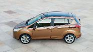 Dass es Vans schwer haben, hat auch Auswirkungen aufs Ford-Modellangebot. Der kleine und durchaus pfiffige Van B-Max wurde nach fünf Jahren Bauzeit aufs Abstellgleis geschoben.