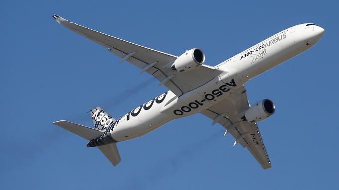 Die erste Auslieferung des neuen A350-1000 musste Airbus verschieben.