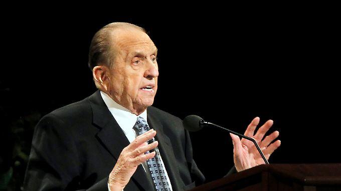 Die Mormonen zählen weltweit rund 16 Millionen Mitglieder.