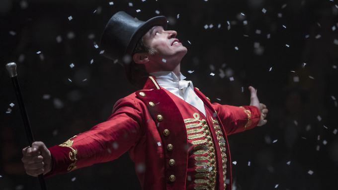 "Hugh Jackman kann in ""The Greatest Showman"" als P.T. Barnum glänzen."