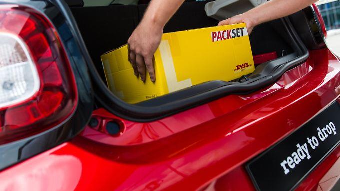Seat ist nicht der erste Autohersteller, der seinen Kofferraum für Paketboten öffnet.