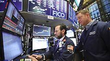 Kursfestival an der Wall Street: US-Börsen bleiben auf Rekordkurs