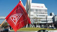 Warnstreiks bei Porsche: 1000 Beschäftigte wollen Arbeit niederlegen