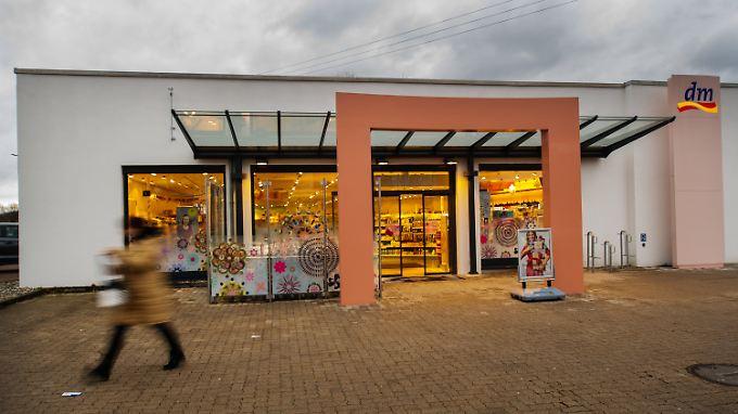 In diesem Drogeriemarkt in Kandel wurde die 15-Jährige erstochen.