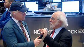 "Peter Tuchman zum Dow-Jones-Rekord: ""Das ist irrational gerade"""