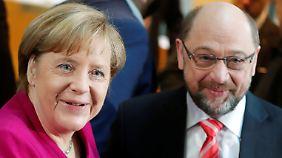 Eiliges Ringen um neue Regierung: Union und SPD starten optimistisch in Sondierungen