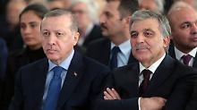 Streit in der Regierungspartei: Erdogans Kritiker hoffen auf Gül
